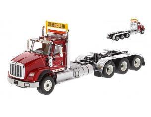 DIECAST MASTER DM71008 HX620 TRIDEM TRACTOR RED 1:50 Modellino