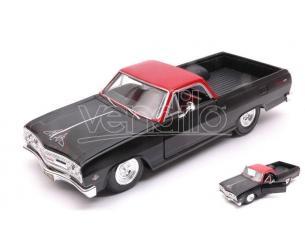 MAISTO MI32517Z CHEVROLET EL CAMINO 1965 BLACK/RED 1:25 Modellino
