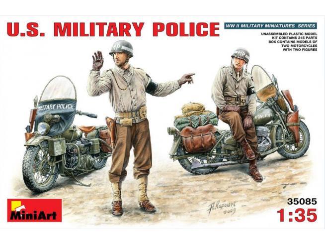 MINIART MIN35085 U.S. MILITARY POLICE KIT 1:35 Modellino