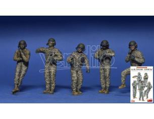 MINIART MIN37005 U.S.TANK CREW KIT 1:35 Modellino
