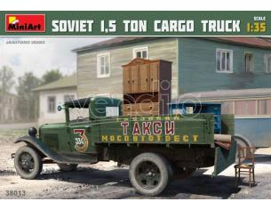 MINIART MIN38013 SOVIET 1,5 TON CARGO TRUCK KIT 1:35 Modellino