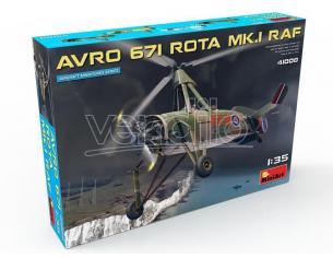 MINIART MIN41008 AVRO 671 ROTA Mk.I RAF KIT 1:35 Modellino