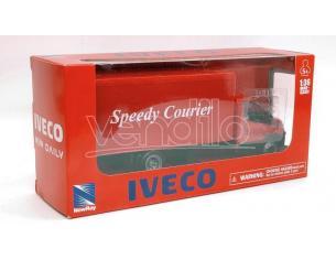 NEW RAY NY15873F IVECO DAILY CENTINATO ROSSO 1:36 Modellino