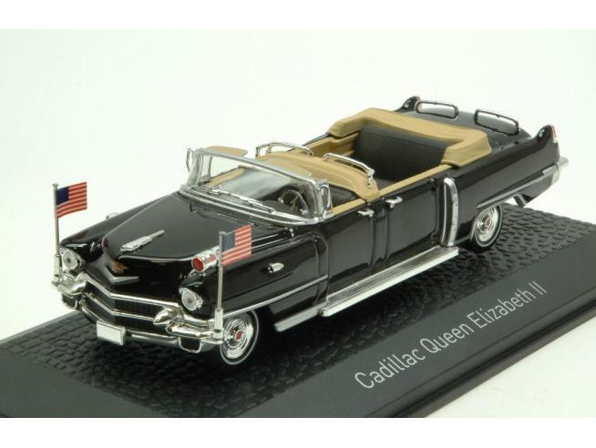 NOREV NV910029 CADILLAC QUEEN ELISABETH II 1956 BLACK 1:43 Modellino