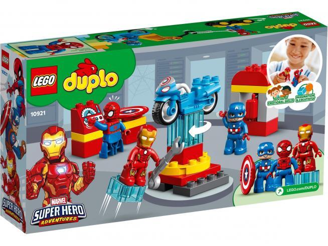LEGO DUPLO 10921 - IL LABORATORIO DEI SUPEREROI