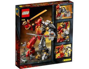LEGO NINJAGO 71720 - MECH PIETRA - FUOCO