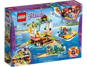 LEGO FRIENDS 41376 - LA MISSIONE DI SOCCORSO DELLE TARTARUGHE