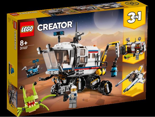 LEGO CREATOR 31107 - IL ROVER DI ESPLORAZIONE SPAZIALE