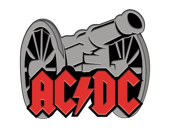 Aquarius Ent Ac/dc Cannon Enamel Spilla Spilla