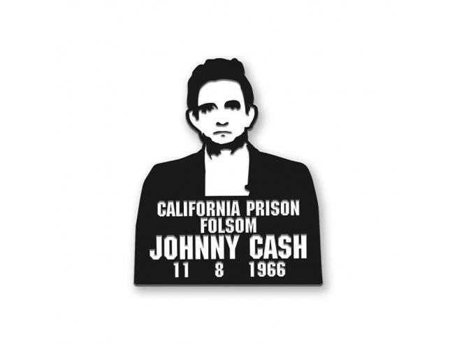 Aquarius Ent Johnny Cash Prison Enamel Spilla Spilla
