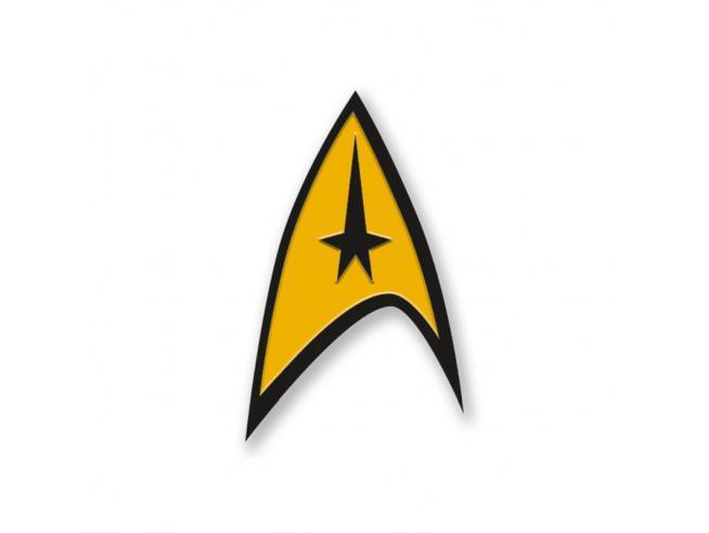 Aquarius Ent Star Trek Command Enamel Spilla Spilla