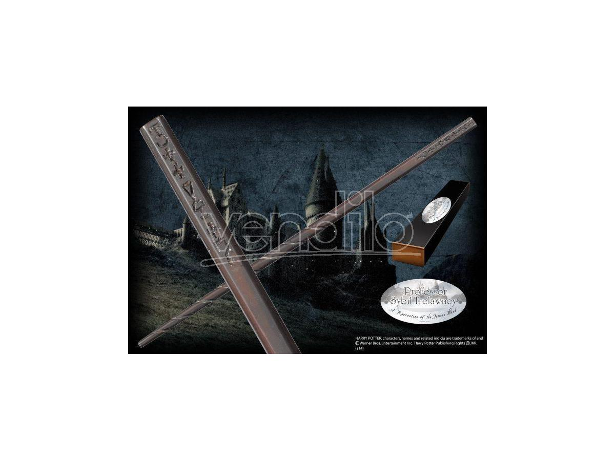 Harry Potter Bacchetta Magica Sibilla Cooman Character Noble Collection