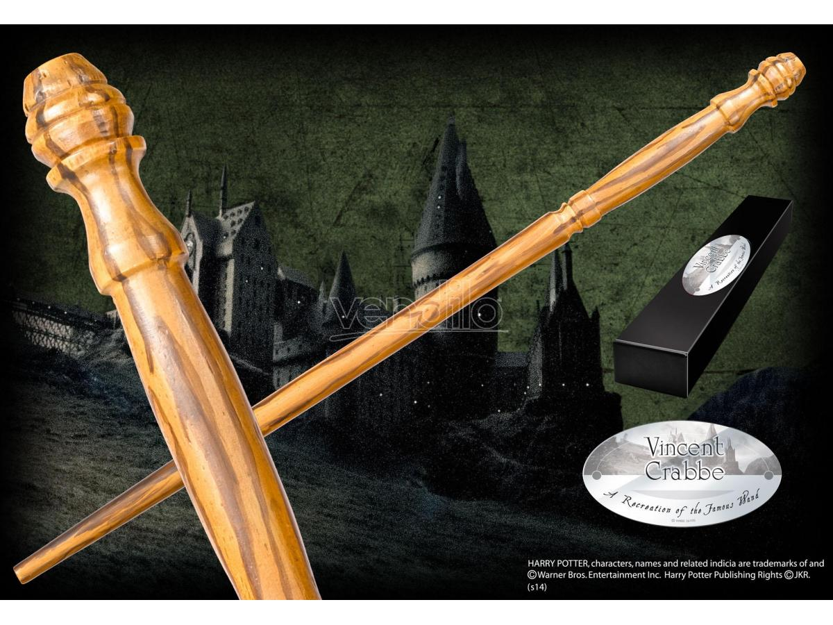 Harry Potter Bacchetta Magica Vincent Tiger Character Noble Collection