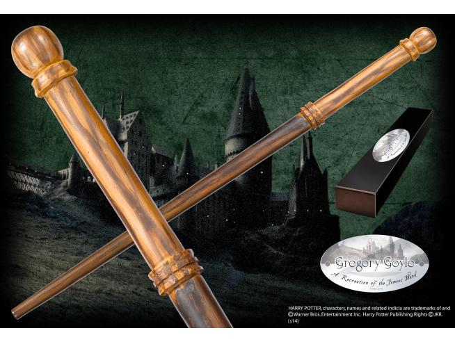 Harry Potter Bacchetta Magica Gregory Goyle Character Noble Collection