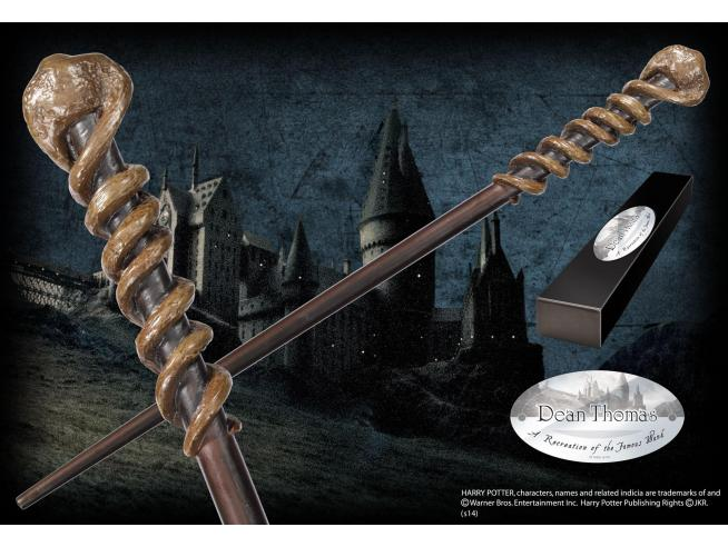 Harry Potter Bacchetta Magica Dean Thomas Character Noble Collection