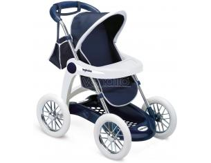 Passeggino Pieghevole Blu per Bambole Inglesina Smoby 7600250381