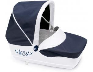Carrozzina Piccolo Combi Pieghevole Blu per Bambole Inglesina Smoby 7600250581