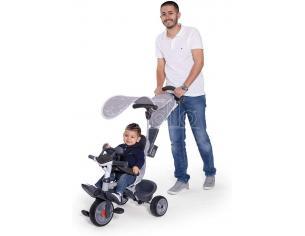 Triciclo Baby Driver Confort Grigio da 10 Mesi Smoby 7600741202