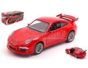 NEW RAY NY51293GT3R PORSCHE 911 GT3 (991) RED 1:32 Modellino