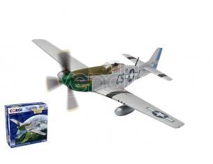 CORGI AA27704 NORTH AMERICAN F-51D MUSTANG CS-L DADDY S GIRL NORFOLK 1945 1:72 Modellino