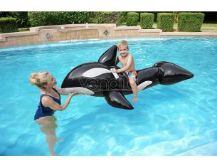 Orca Gonfiabile Grande 203 x 102 cm 3 Anni + Bestway 41009