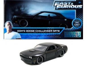 JADA TOYS 253202000 Fast & Furious Dodge Challenger SRT8 di Dom Die Cast 1:32