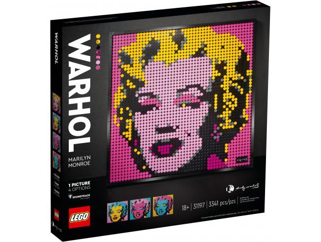 LEGO ART 31197 - MARILYN MONROE DI ANDY WARHOL