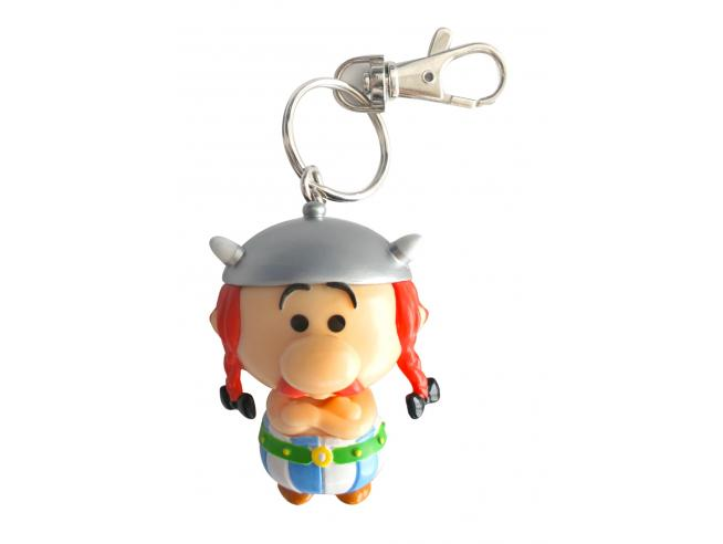 Plastoy Asterix Obelix Chibi Portachiavi