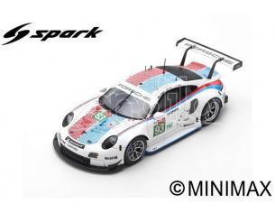 SPARK MODEL S87152 PORSCHE 911 RSR N.93 3rd LMGTE PRO LM 2019 PILET-BAMBER-TANDY 1:87 Modellino