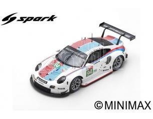 SPARK MODEL S87153 PORSCHE 911 RSR N.94 LM 2019 MULLER-JAMINET-OLSEN 1:87 Modellino
