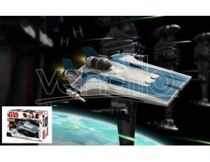 REVELL RV06762 STAR WARS RESISTANCE A-WING FIGHTER BLUE KIT 1:44 Modellino