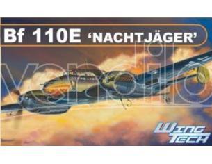 DRAGON D5566 BF110E NACHTJAGER KIT 1:48 Modellino