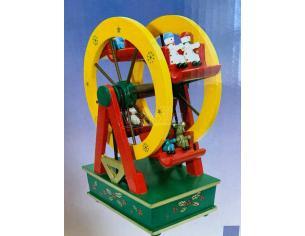 F & C Carillon Music Box a Forma di Ruota Panoramica 20 cm