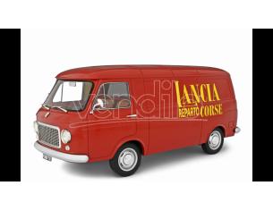 Ixo model LM122H FIAT 238 LANCIA RACING RED 1:18 Modellino