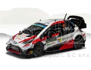 IXO MODEL RAM722 TOYOTA YARIS WRC N.8 RALLY MONTE CARLO 2019 TANAK-JARVEOJA 1:43 Modellino