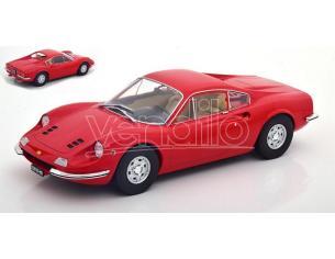 MODELCARGROUP MCG18166 FERRARI DINO 246 GT 1969 RED 1:18 Modellino