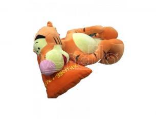 """Peluche Tigro Steso con Cuscino """"You're Terrific"""" 60 cm Winnie The Pooh Disney"""