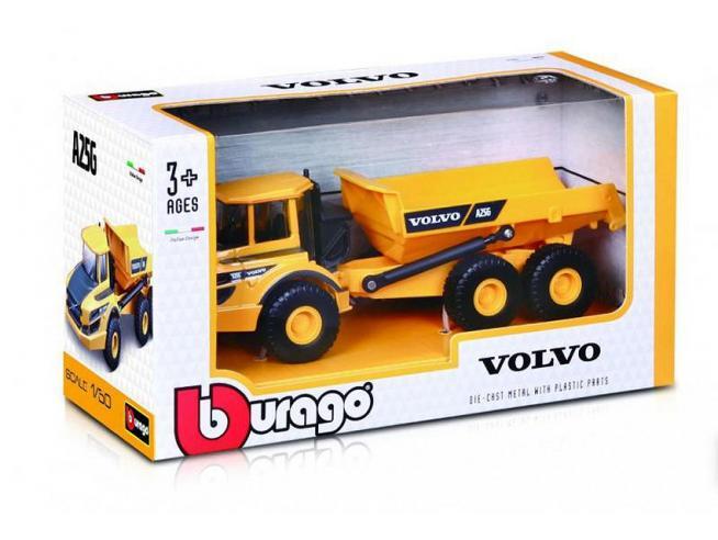 BBURAGO BU32085 VOLVO A25G ARTICULATED HAULER 1:50 Modellino
