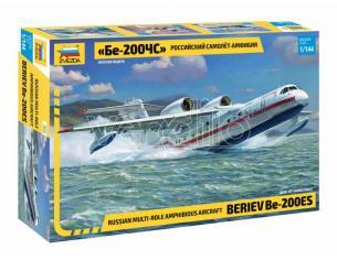 ZVEZDA Z7034 BERIEV BE-200 AMPHIBIOUS AIRCRAFT KIT 1:144 Modellino