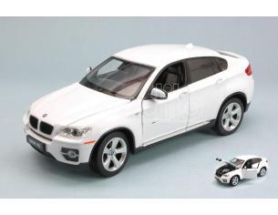 RASTAR RAT41500W BMW X6 2010 WHITE 1:24 Modellino