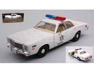 GREENLIGHT GREEN84095 PLYMOUTH FURY HAZZARD COUNTY SHERIFF 1977 1:24 Modellino