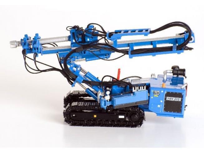 Ros RS00210 SONDA HUTTLE HBR 605 HYDRAULIC DRILL RIG 1:50 Modellino