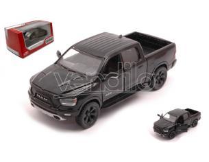 KINSMART KT5413WBK RAM 1500 PICK UP 2019 BLACK 1:32 Modellino