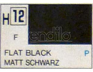Gunze GU0012 BLACK MATT ml 10 Pz.6 Modellino