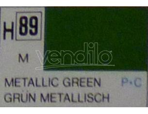 Gunze Gu0089 Green Metallolic Ml 10 Pz.6 Modellino
