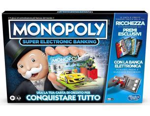 MONOPOLY SUPER ELECTRONIC BANKING GIOCHI DA TAVOLO - TAVOLO/SOCIETA'
