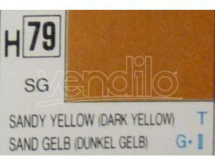 Gunze GU0079 SANDY YELLOW SEMI-GLOSS ml 10 Pz.6 Modellino