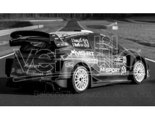 IXO MODEL RAM715 FORD FIESTA RS WRC N.33 RALLY PORTUGAL 2019 EVANS-MARTIN 1:43 Modellino