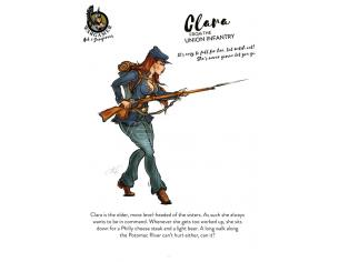 54 Mm Clara From The Union Infantry Miniature E Modellismo Hot E Dagerous