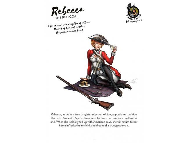 54 Mm Rebecca The Red Mantello Miniature E Modellismo Hot E Dagerous